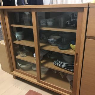 【5/25まで引取限定】無印良品 食器棚