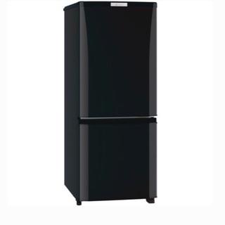 三菱電気 146L 2ドア冷蔵庫(サファイアブラック