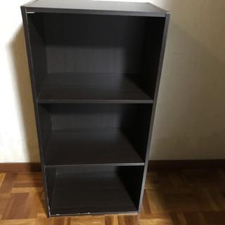 カラーボックス 3段棚