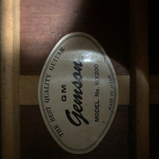 GEMSON WX200 アコースティックギター(日本製)