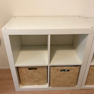IKEA 棚 シェルフ 引き出し セット 引取希望