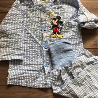ミッキーのパジャマ 梅雨〜秋用 80