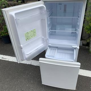 配送無料🚛当日配送‼️SHARP  冷蔵庫 137L🌟つけ…