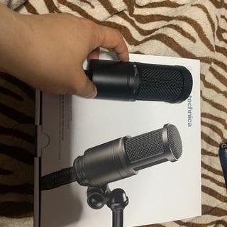 audio-technica AT2020  簡易スタンド付き