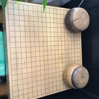 囲碁盤囲碁石