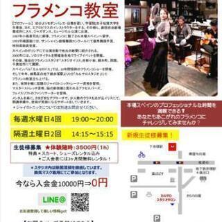 【板橋区練馬区】土曜日開催!フラメンコ教室