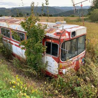 バスの廃車を探しています。