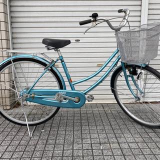 【中古自転車】26インチ変速なし カゴ、サドル、鍵新品❗️…