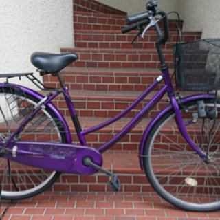 【中古自転車】26インチ変速なし サカモトテック製 若林自…