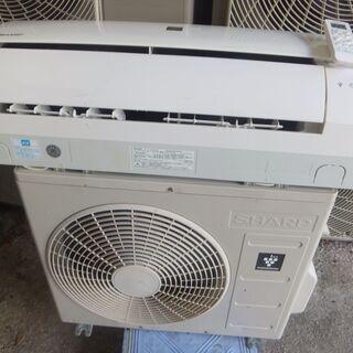 冷暖房シャープ2.2K 6~8畳 2016年 2万5千円