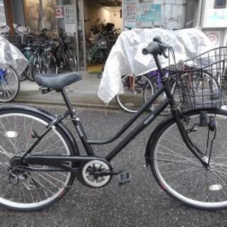 中古自転車1511 前後タイヤ新品! 26インチ 6段ギヤ…