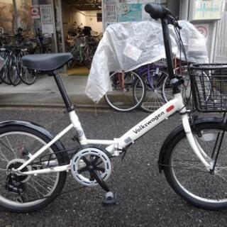 中古自転車1512 前後タイヤ新品! フォルクスワーゲン …