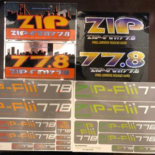 ZIP-FM ステッカー                    ...
