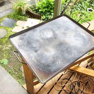 バーベキュー用 鉄板