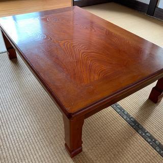 座卓テーブル(こたつ付き)