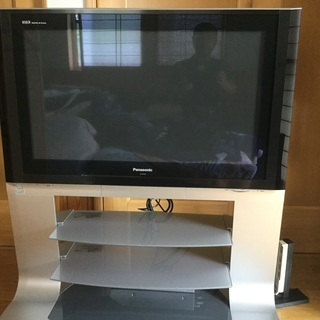 パナソニックプラズマTV37型‼️TV台一体型❣️美品です