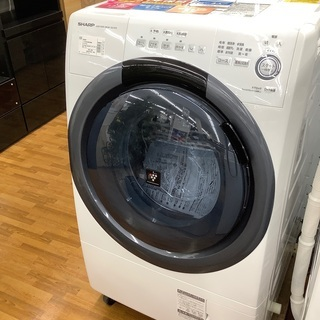 安心の12カ月保証付き SHARP ドラム式洗濯乾燥機 ES-S...