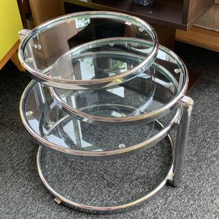 【ネット決済】【エコスタイル太田】ガラスサイドテーブル