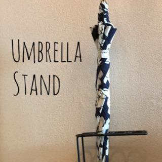 【梅雨入り☔】傘立て 黒 コンパクト