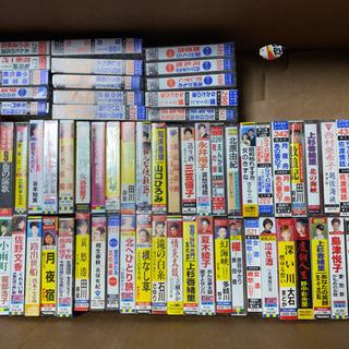 演歌、カラオケ、カセットテープ、70本
