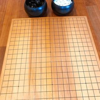囲碁盤&囲碁石セット