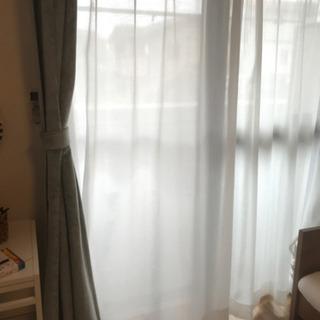 遮光 UVカット レースカーテン