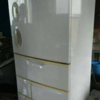 ナショナル 冷蔵庫 455L NR-E46W2-H