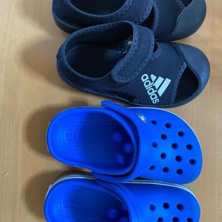 キッズサンダル 子どもサンダル adidas クロックス