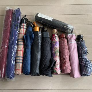 折りたたみ傘 未使用品含む まとめ 11本 男性女性