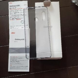 『新品未使用』Galaxy A30 携帯カバー au An…