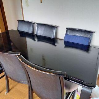 ダイニングテーブル 椅子6脚 オーストリッチ