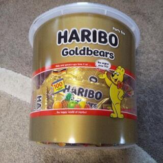 ハリボ ゴールドベアのグミ