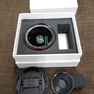 美品 スマホレンズ 携帯カメラ 0.6x 広角レンズ マクロ ...