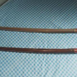 木刀2本、びわ特選、赤樫上特