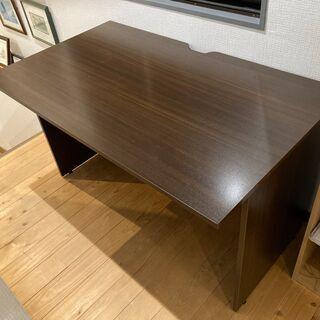 【ネット決済】木製シンプルデスク机(1200×700×700)