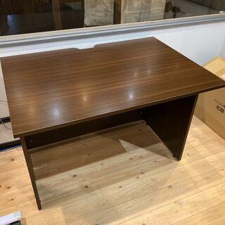 【ネット決済】木製シンプルデスク机(1000×700×700)