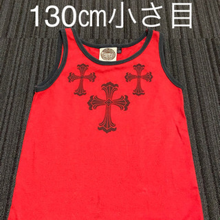 【DOUBLE CIRCLE 男の子 130 ㎝ タンクトップ ...