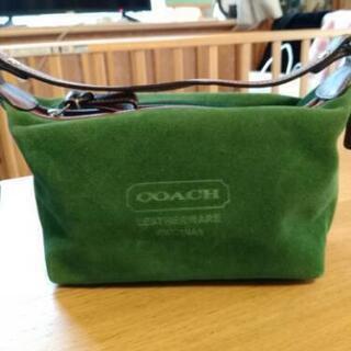 COACHのミニバッグ