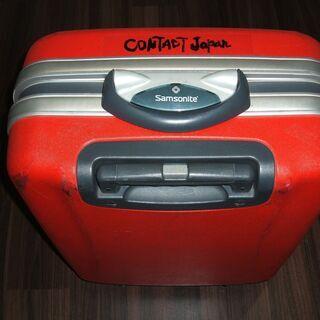 スーツケースレッド