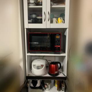 【無料】食器棚 60×36×178