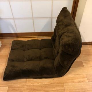 【明日明後日受け取り可能な方】モコモコ 座椅子