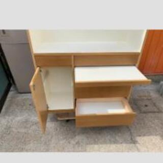 カウンター付食器棚