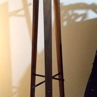 木製×アイアン★コート掛け★高さ165cm