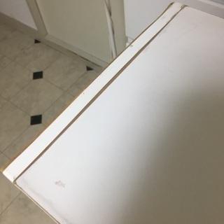 3段カラーボックス  白 46x29x89cm - 家具