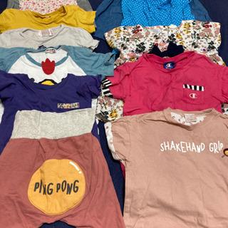 【ネット決済】100センチ 女児 洋服まとめ売り