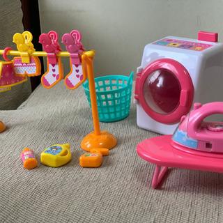 お菓子屋さん ぺっぱピッグファミリー 洗濯機セット - おもちゃ