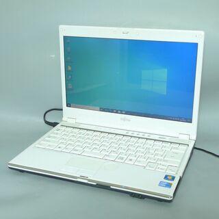 1台限定 送料無料 ホワイト色 ノートパソコン 中古動作良…