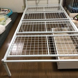 ニトリシングルベッド、大幅値下げします!