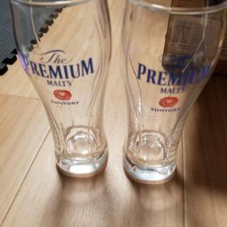 プレモルのグラスになります。