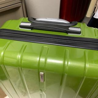 スーツケース 黄緑